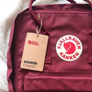 NEW Kanken Classic Backpack - Authentic - Ox Red